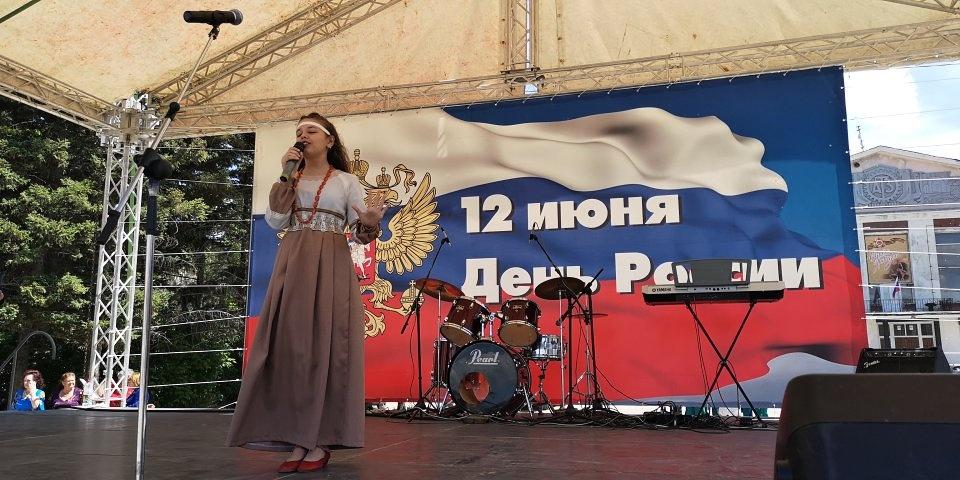 Рубцовчане отпраздновали День России